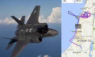 """Полет малозаметного F-35 обнаружили на """"Флайтрадаре"""""""