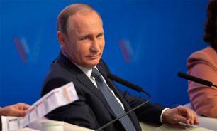 """Путин: ОНФ доказал свою эффективность в контроле за выполнением """"майских указов"""""""