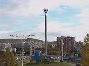 Мурманск: город зимы в отлучке и радуги