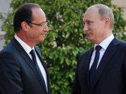 Олланд не убедил Путина по Сирии