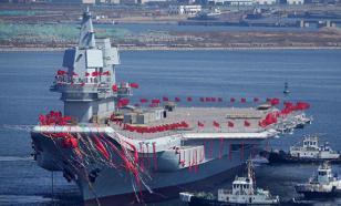 """Китайский авианосец """"Пипи Ся"""" отправился на вторые испытания"""