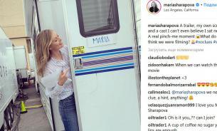 Шарапова снялась в фильме, но не рассказала в каком
