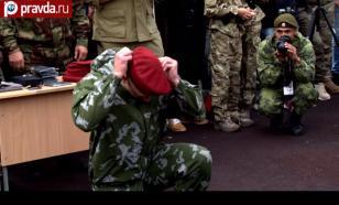 Краповые береты: спецназ не ржавеет!