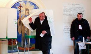 Партия Саакашвили с треском проиграла выборы в Грузии