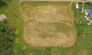 Многодетными семьям с Урала раздали землю с футбольного стадиона