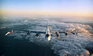 Ракетоносцы Ту-95МС около 9 часов патрулировали воздушное пространство
