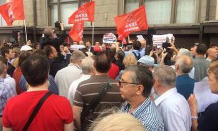 По всей России прошли массовые протесты против повышения пенсионного возраста