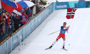"""Лыжник из Норвегии обозвал своих российских коллег """"тупыми"""""""