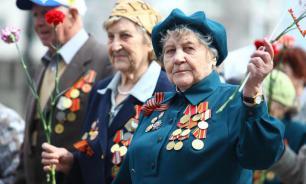 Ветеранов доставляли до Красной площади на электрокарах