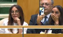 Дочь Ильхама Алиева делала селфи в зале ООН, пока отец говорил о Карабахе