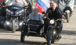 Госавтоинспекция не оштрафовала Путина за езду на мотоцикле без шлема