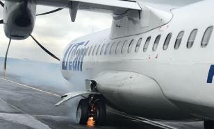 Очередной самолет Utair загорелся на взлете. Спас пассажир
