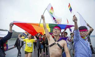 В Китае впервые запротестовали геи
