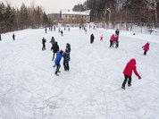 В новогодние дни жителей Томска ждут бесплатные ледовые катки