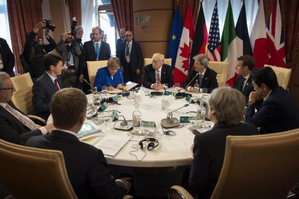 NHK: саммит G7 может завершиться без подписания совместного коммюнике