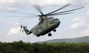 """Вертолет """"Ми-8"""" совершил жесткую посадку на Камчатке"""