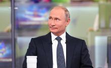 """Путин объяснил, зачем пригласил чиновников на """"прямую линию"""""""