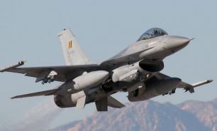 Истребитель ВВС Бельгии потерпел крушение на северо-западе Франции