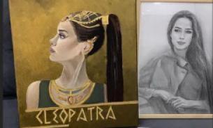 Загитовой подарили ее портрет в образе Клеопатры