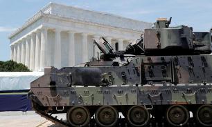 На празднование Дня независимости США привезли ржавые танки без стволов