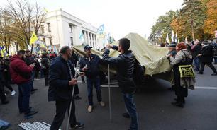 Новый Майдан: Порошенко спрятался