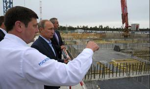 """Путин на космодроме """"Восточный"""" потребовал реальных сроков и """"посадок"""""""