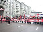 Красный Первомай: 70 тысяч  коммунистов на улицах Москвы