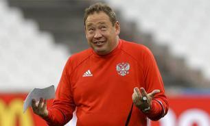 Слуцкий сравнил сборную России с алкашами и фекалиями
