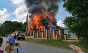 Чудотворная икона сгорела при пожаре в курганском монастыре
