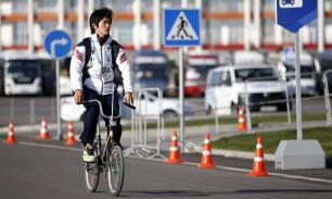 Велосипед в городе не игрушка