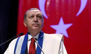 Эрдоган ругается? Брань на вороту не виснет