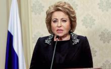 Матвиенко предложила создать стандарты благополучной жизни для всех пенсионеров