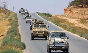Армия ПНС заняла город Гарьян к югу от Триполи