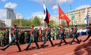 Военно-спортивный праздник, посвященный Дню Победы, прошел в Сокольниках