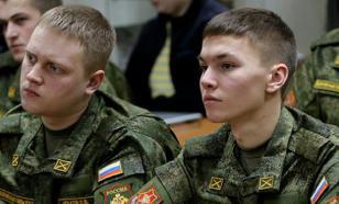 Студентам присвоят офицерские звания без службы в армии