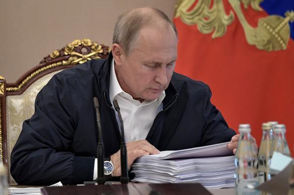 Путин о нацпроектах: конечная цель - повысить уровень жизни граждан