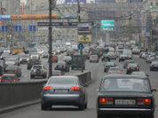 """Против """"бомбил"""" в Москве применили желтый луч"""