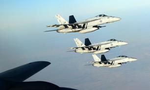 Российские летчики поздравили американцев с Днем независимости