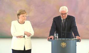 Меркель снова стало плохо на официальной встрече