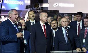 Глава Роскосмоса пояснил свое предложение о турецком космонавте