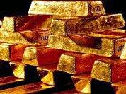 Золото течет с запада на восток