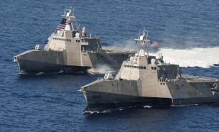 "Суперкорабли ВМФ США признали ""плавучими кучами мусора"""