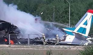 Пассажиры Ан-24 рассказали, как покидали горящий самолет