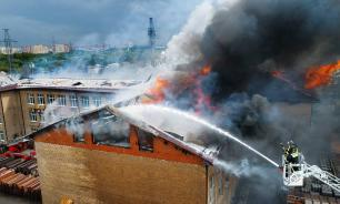 В результате пожара в Мытищах погиб один человек