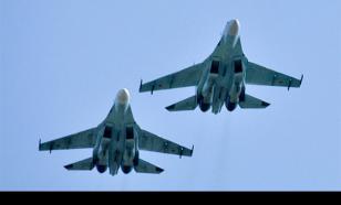 Полет Су-27 завершился катастрофой в небе над Украиной