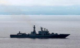 Морпехи российских флотилий  участвуют в проверке боеготовности войск