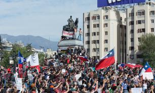 В Чили умирали за справедливость к пенсионерам