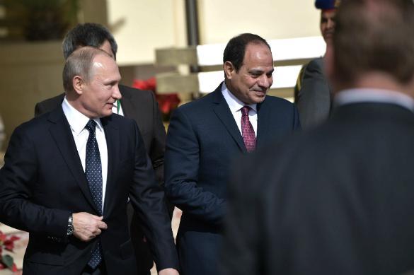 Спасибо Трампу: как Путин покорил Египет