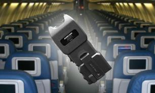 Дебоширов в самолетах будут усмирять электрошокерами