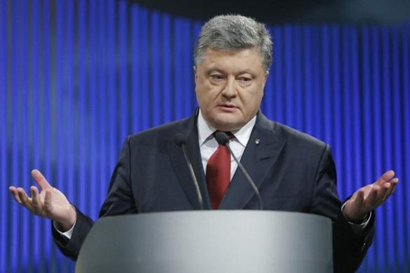 Порошенко удивился присутствию Саакашвили на Украине
